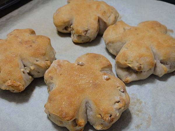低溫發酵核桃麵包
