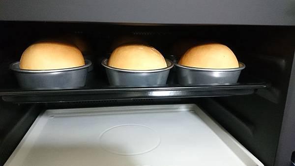 水波爐漢堡-開爐