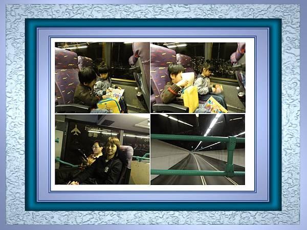 機場往飯店的巴士