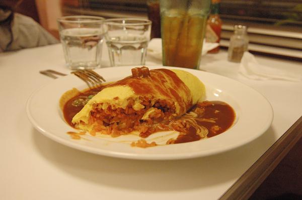 宜蘭美食 Ninety-Six 香濃咖哩蛋包飯