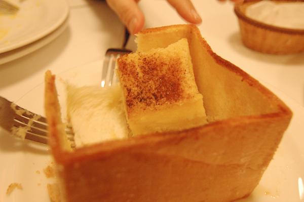 宜蘭美食 Ninety-Six 蜂蜜方塊吐司