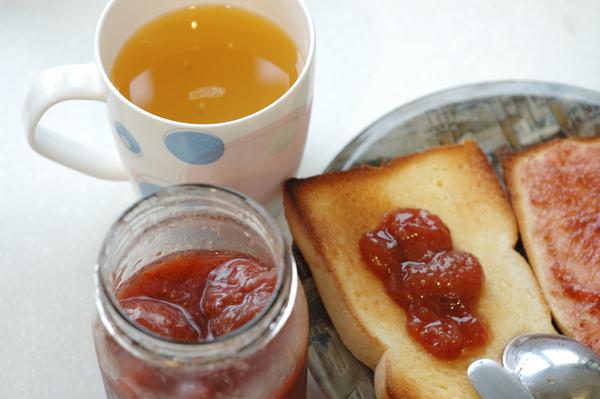 【宜蘭民宿】Sunday Home 的手工草莓果醬
