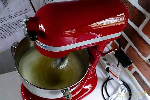【宜蘭民宿】Sunday Home 男主人的大玩具 KichenAid 攪拌機