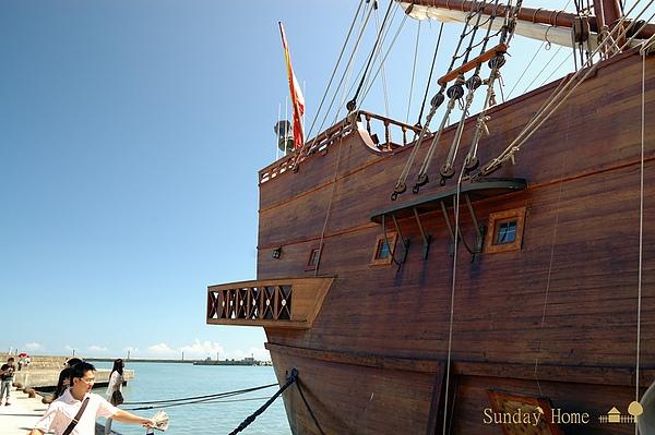 面向太平洋--『安達魯西亞號』在宜蘭烏石港 【宜蘭民宿】Sunday Home