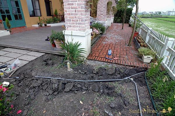 2010 暑假前限期完工/庭園灑水工程 【宜蘭民宿】Sunday Home