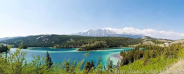 育空省的翡翠湖