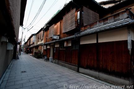 京都祇園,花見小路