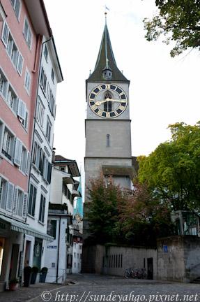 蘇黎士聖彼得教堂