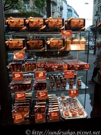 瑞士巧克力店Bachmann琉森