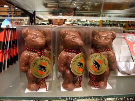 伯恩巧克力熊