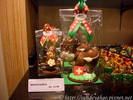 瑞士巧克力乳牛