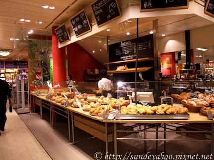 超市麵包區