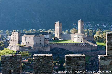 貝林佐納 大城堡