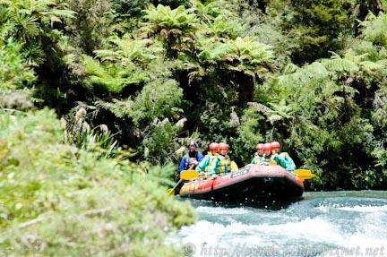 紐西蘭羅陀魯阿白水泛舟