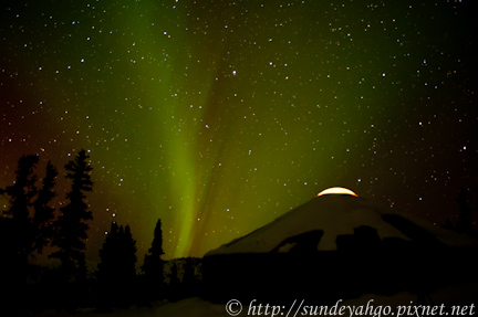 阿拉斯加北極光