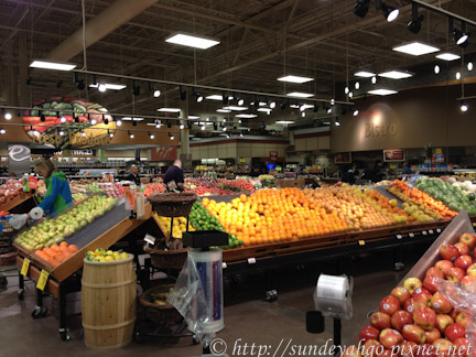 阿拉斯加超市水果區