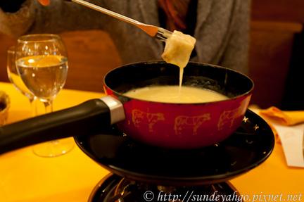 瑞士起司火鍋