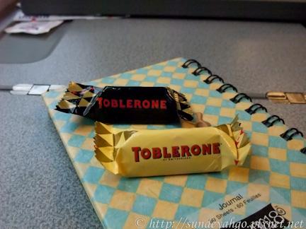 瑞士金字塔巧克力