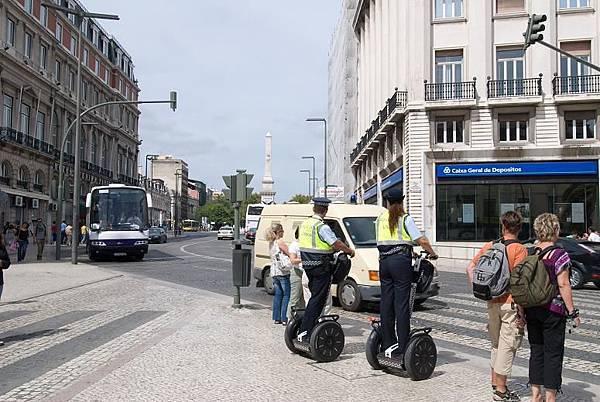 里斯本警察的雙輪車