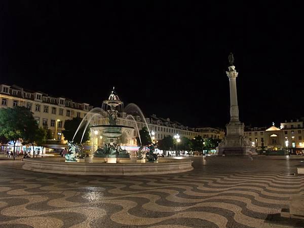 蘿西歐廣場夜景