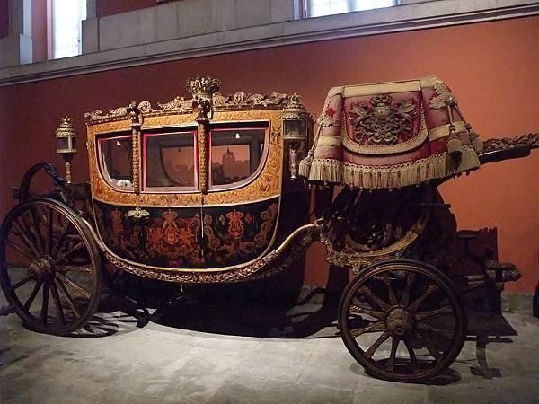 英國女王坐過的馬車