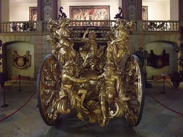 大使見教宗搭的馬車