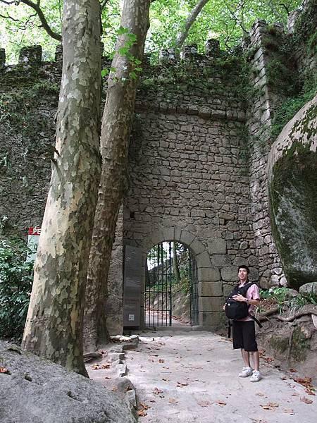 摩爾人城堡入口處