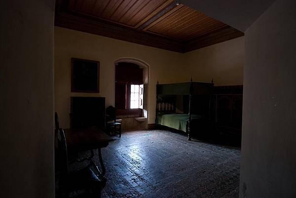 阿方索六世被囚禁的房間