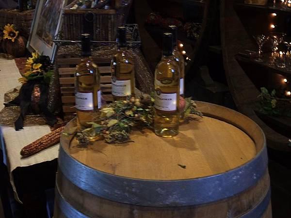 白酒葡萄橡木桶