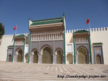 費斯皇宮大門