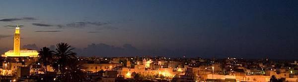 卡薩布蘭加夜景