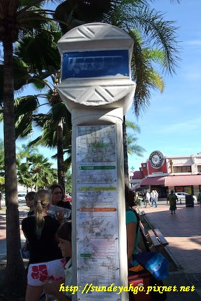 新喀里多尼亞公車站牌