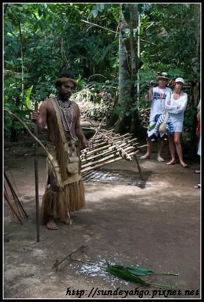 原住民設陷阱