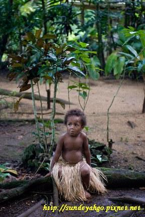 萬納杜原住民小孩