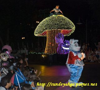 迪士尼遊行