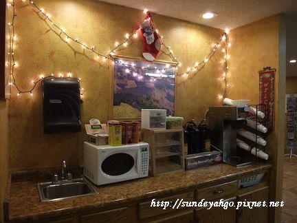 Days Inn茶水區