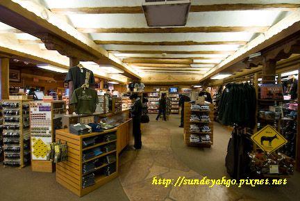 大峽谷天使木屋紀念品區