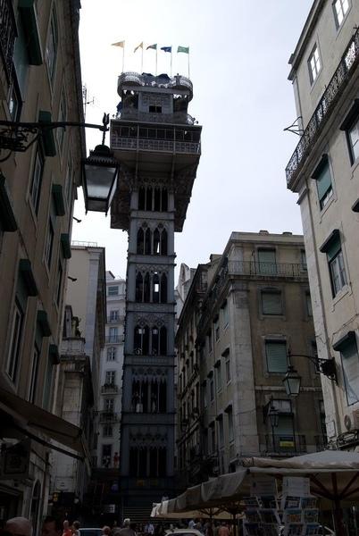 Santa Justa 電梯
