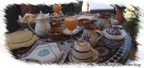 摩洛哥早餐