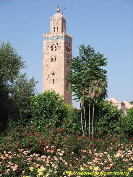 古托比亞清真寺花園