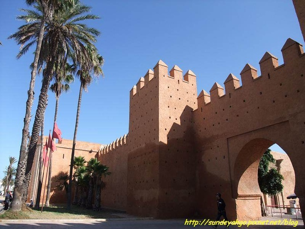 拉巴特城牆哈德城門