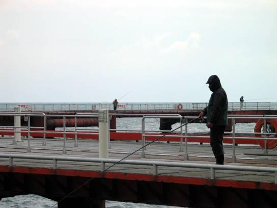 須磨浦海釣公園--海釣者