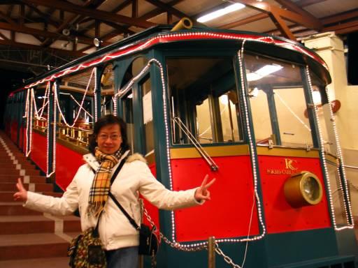 六甲山的Cable Car
