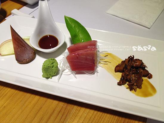 172章魚、油魚子、黑鮪魚中腹