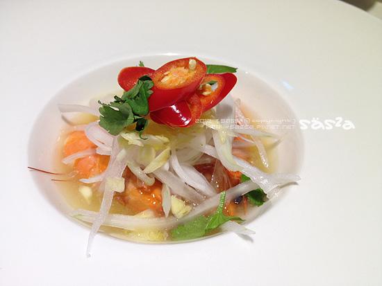 175泰式白蝦沙拉