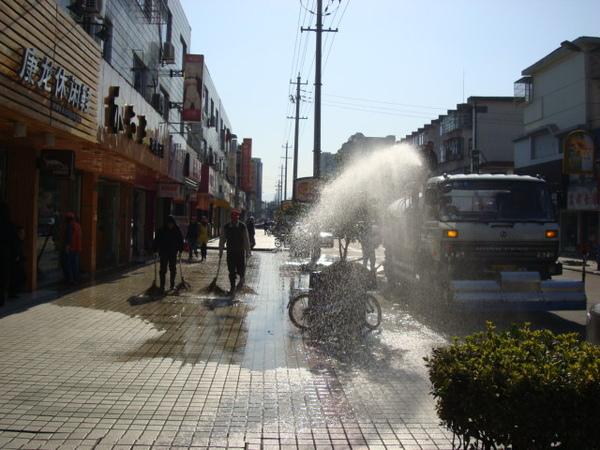 洗馬路.JPG