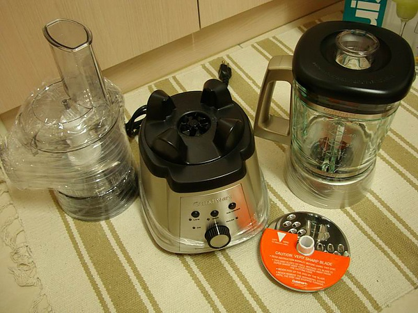 食物調理器開箱2