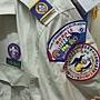大露營代表團製服徽章位置圖
