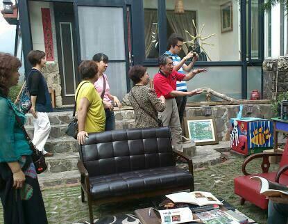 原村藝術節,造訪遊客甚多