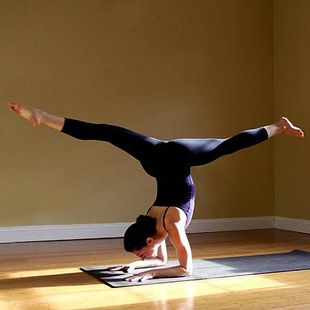 Forearm-Stand-Split-Pose